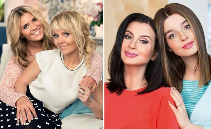 Звёздные мамы, которые рядом со своими дочерьми выглядят, как их подружки.