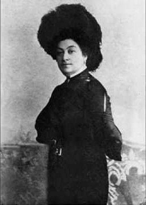 Мария Пуаре в зрелые годы.