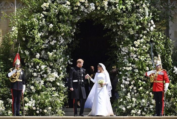 За этой свадьбой наблюдал весь мир.