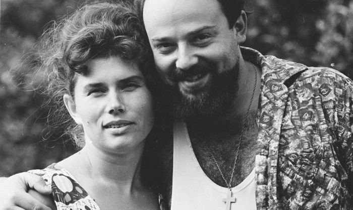 Протоиерей Александр Мень и матушка Наталия.