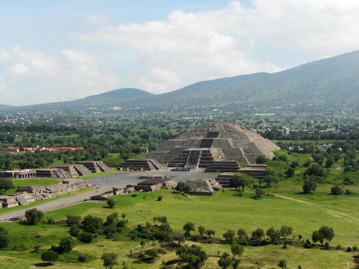 Загадочный Теотиуакан в Мексике.