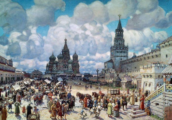 Древняя Москва.