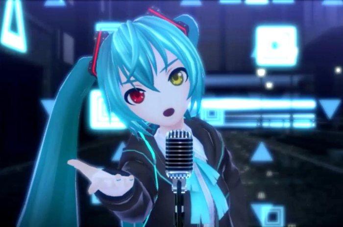 Мику Хацунэ - виртуальная поп-дива и кумир миллионов.