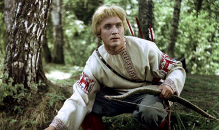 Красный молодец из русской сказки.