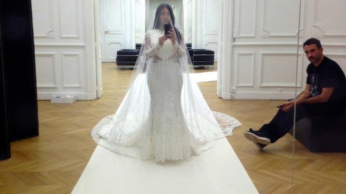 Свадебное платье Givenchy.