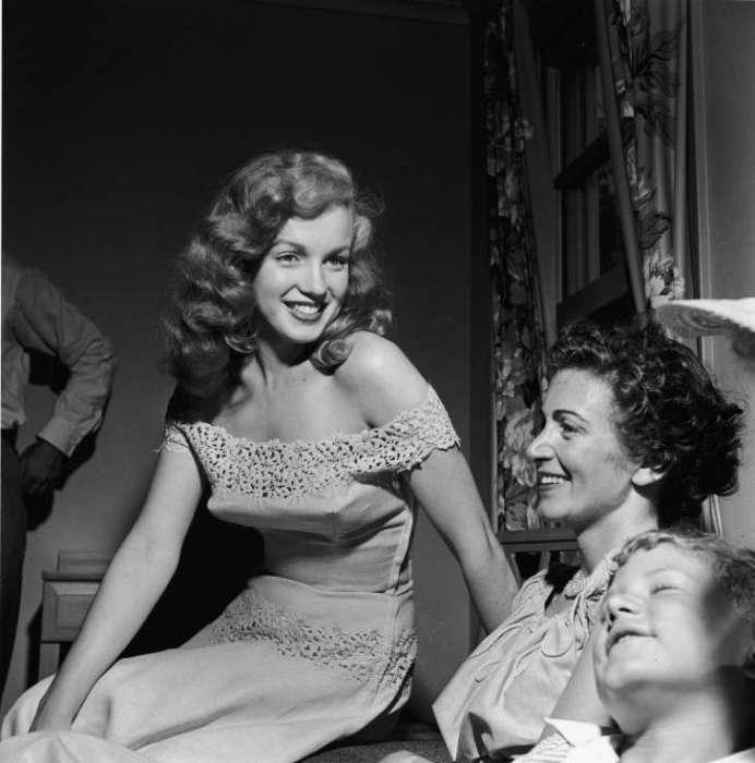 Мэрилин Монро в июне 1949 года.