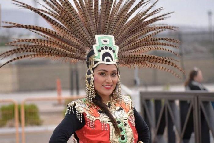 Так могла выглядеть последняя императрица ацтеков.