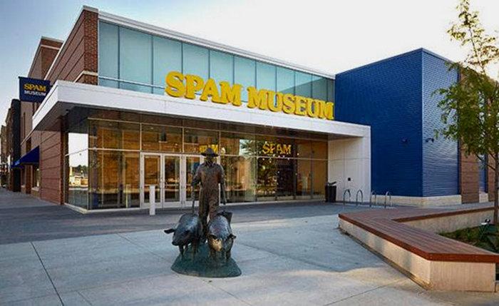 Музей ветчины «Spam». Остин, Миннесота