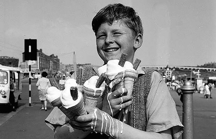 А в СССР эра мороженого началась в 1936 году.