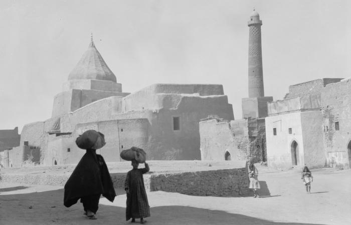 Мечеть ан-Нури в Мосуле, Ирак. 1932