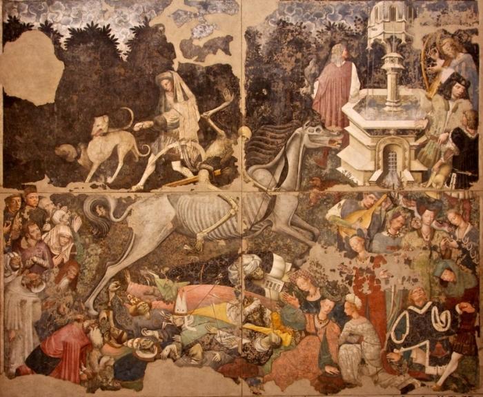 Триумф смерти (1448) Анонимный художник