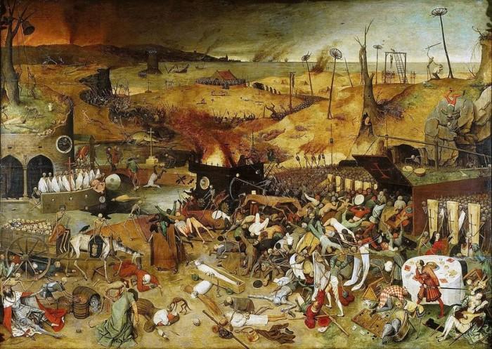 Триумф смерти (1562) Питер Брейгель Старший