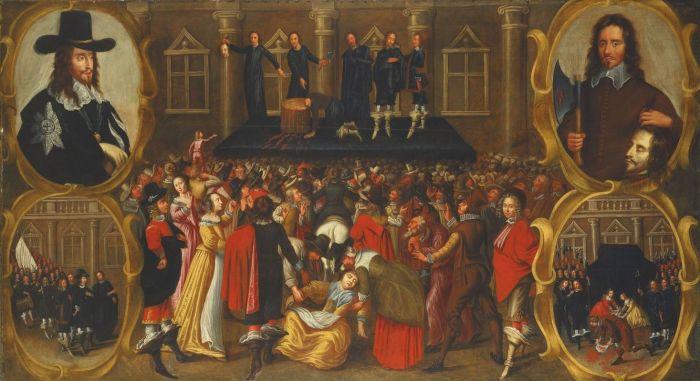 Казнь Карла I (1649). Джон Висоп.