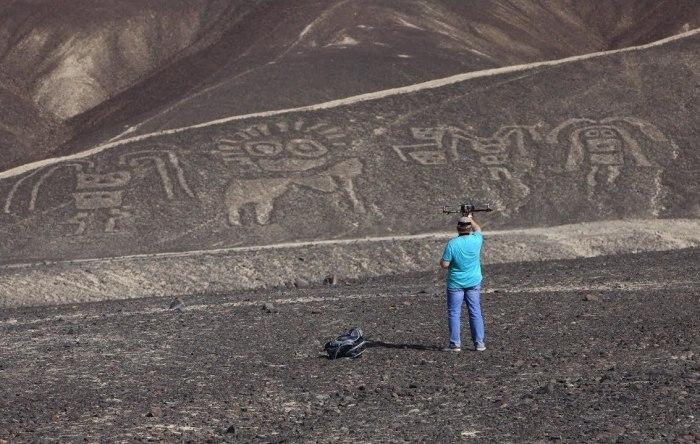 Линии Наска в Перу.
