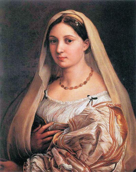 Рафаэль, «Дама с вуалью, или Донна Велата», 1514—1515