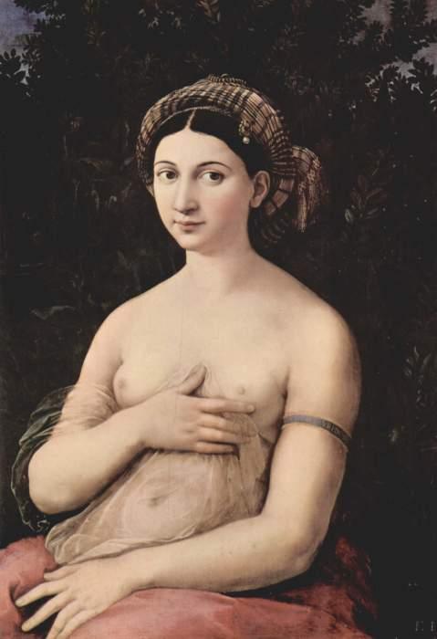Рафаэль, «Портрет молодой женщины, или Форнарина», 1518—1519