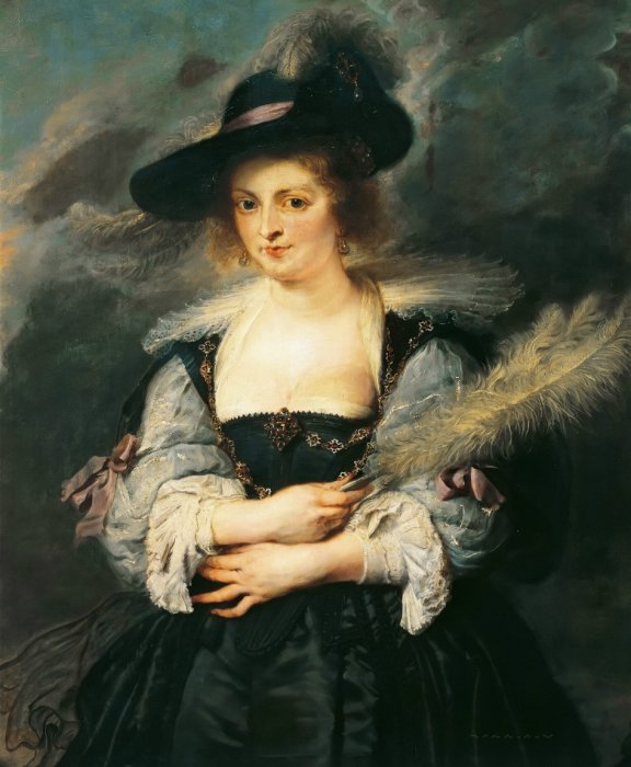 Портрет Елены Фоурмен.
