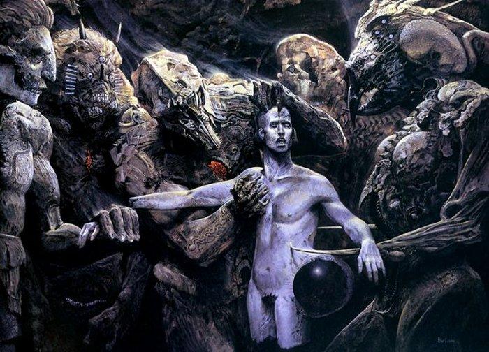 Уэйн Барлоу - художник, который нарисовал ад.
