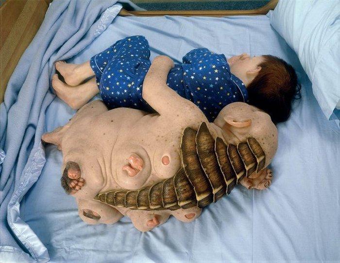 Эти странные скульптуры Пиччинини.