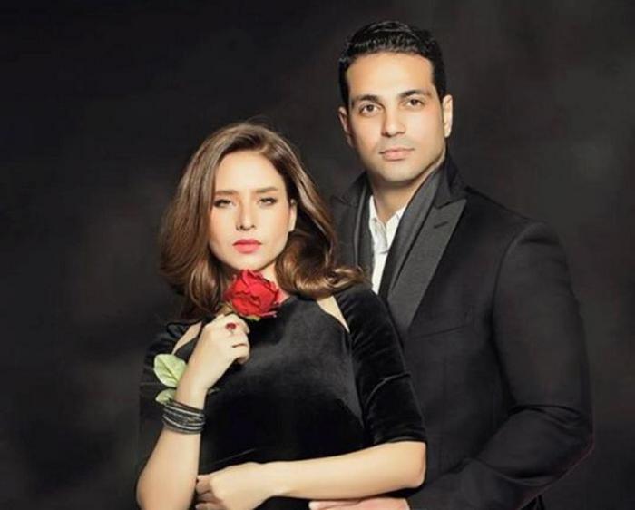 Нелли Карим со своим бывшим мужем Хани Абу Нага