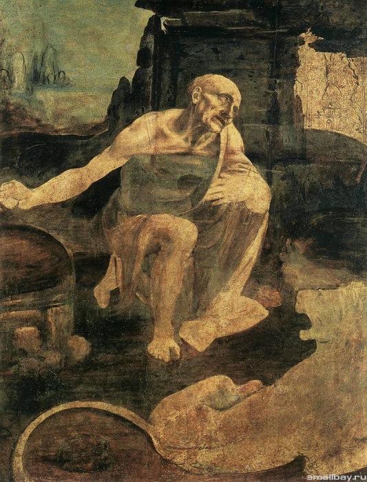 Святой Иероним. Леонардо да Винчи.