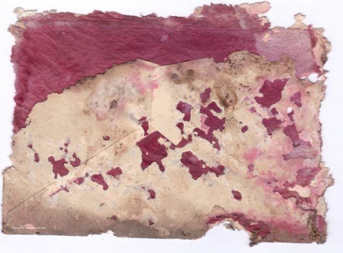 Конверт, в котором были найдены фотографии.