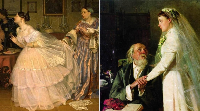 «Уж замуж невтерпёж»: Печальные невесты на картинах русских живописцев.
