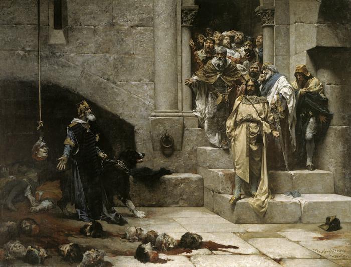 Колокол Уэски (1880) Хосе Касадо дель Алисаль