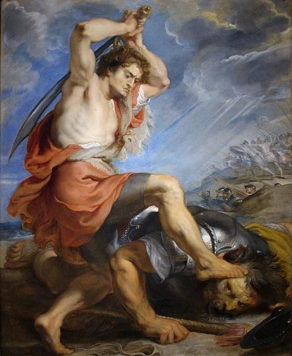 Давид убивает Голиафа (1616) Питер Пауль Рубенс
