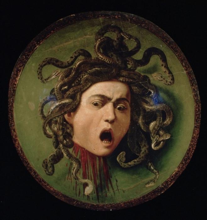 Медуза (1597) Караваджо.