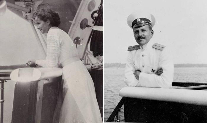 Великая княжна Ольга и Павел Алексеевич Воронов.