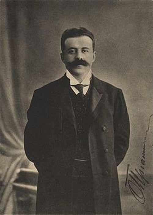 Адвокат Осип Яковлевич Пергамент.