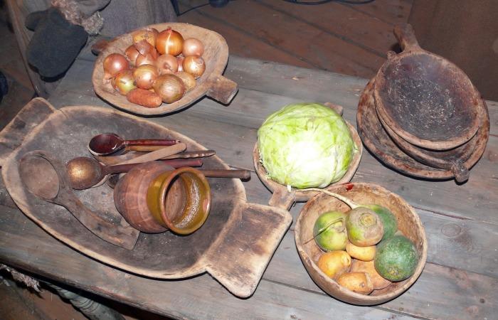 Овощи на Руси.