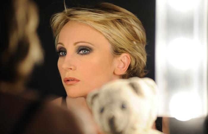 Французская певица Патрисия Каас.