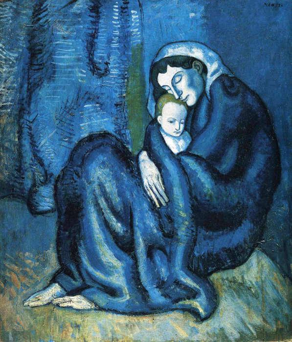 Пабло Пикассо «Мать и дитя».