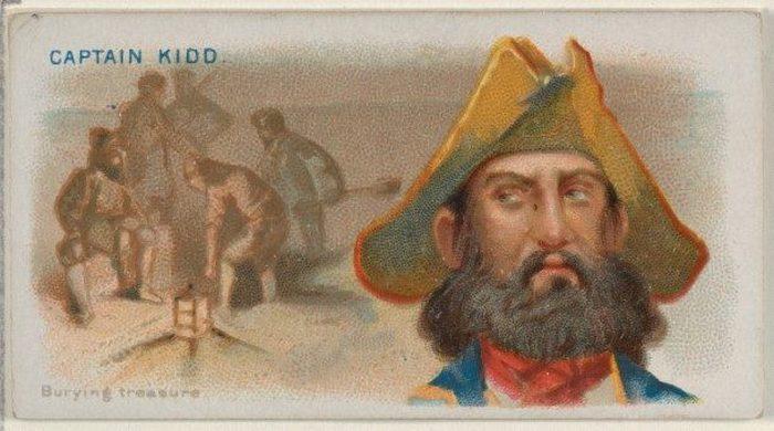 Шотландский моряк Уильям Кидд.