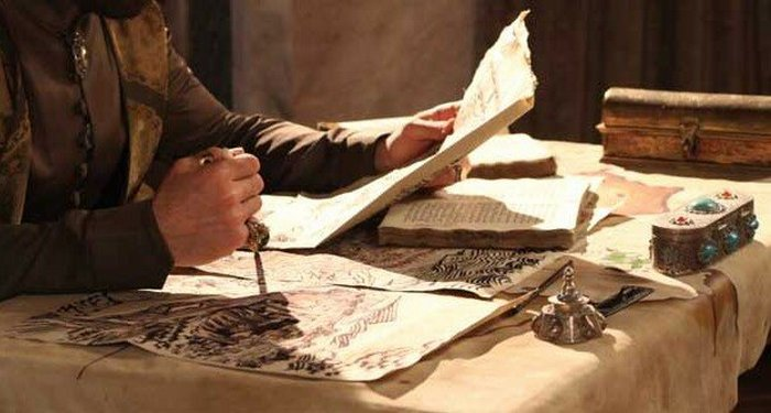 История писаря, который построил мечеть.