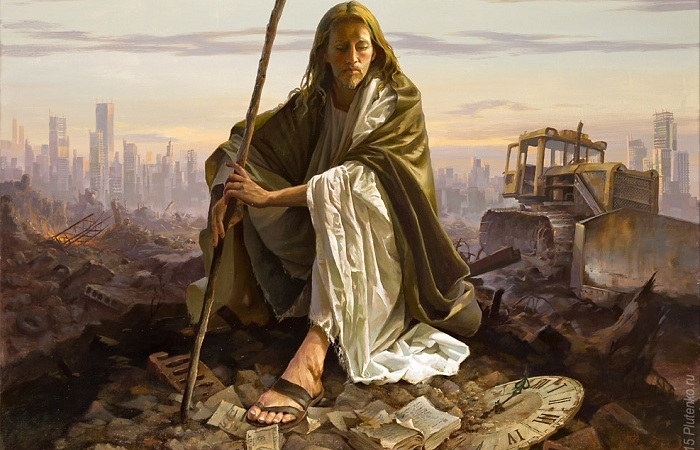 «Христос в пустыне». Автор: Станислав Плутенко.