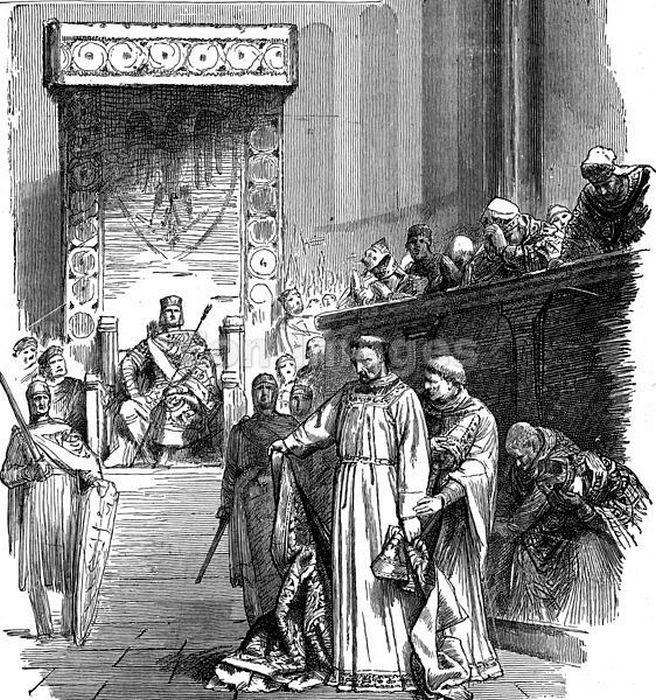 Синод Сутри сверг трех пап за симонию (покупку и продажу сана): Бенедикта IX, Сильвестра III и Григория VI