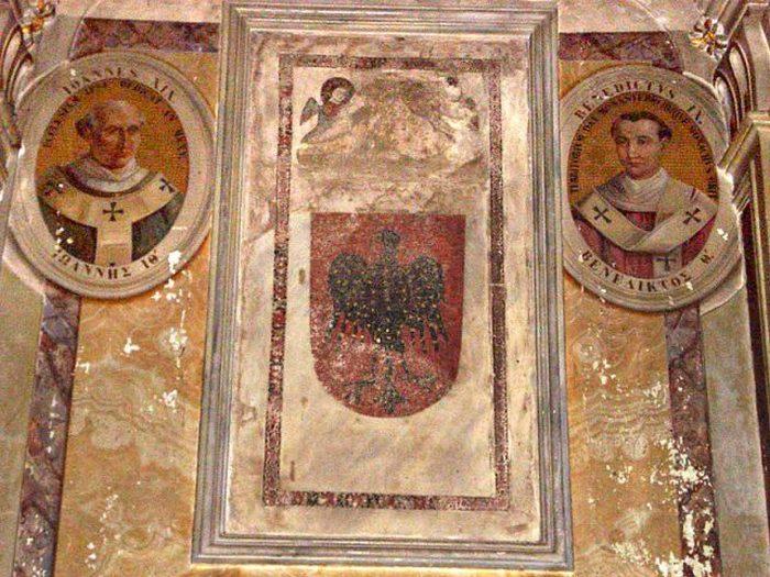 Предполагаемая могила Папы Римского Бенедикта IX.