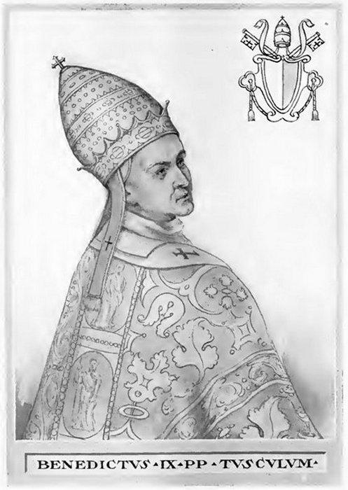 Самый молодой папа в истории продал папство, чтобы жениться на кузине.