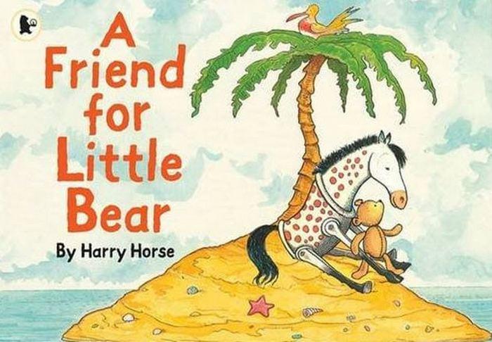 Иллюстрации к книге «Друг для медвежонка». Гарри Хорс.