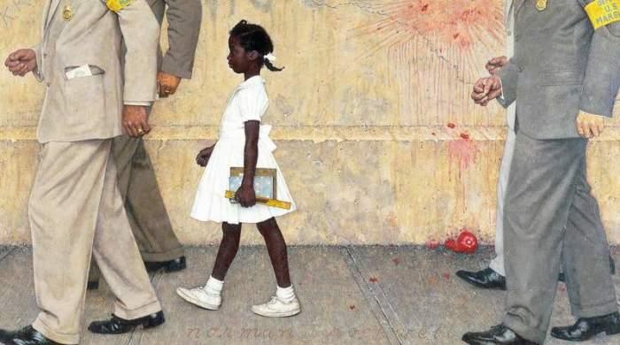 «Проблема, с которой мы все живем», 1964, Норман Роквелл