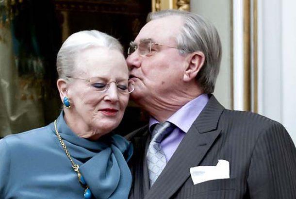 Принц-консорт Хенрик Датский и королева Дании Маргрете II.