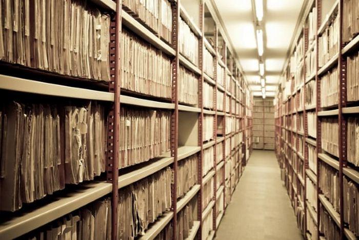 А что в архивах...