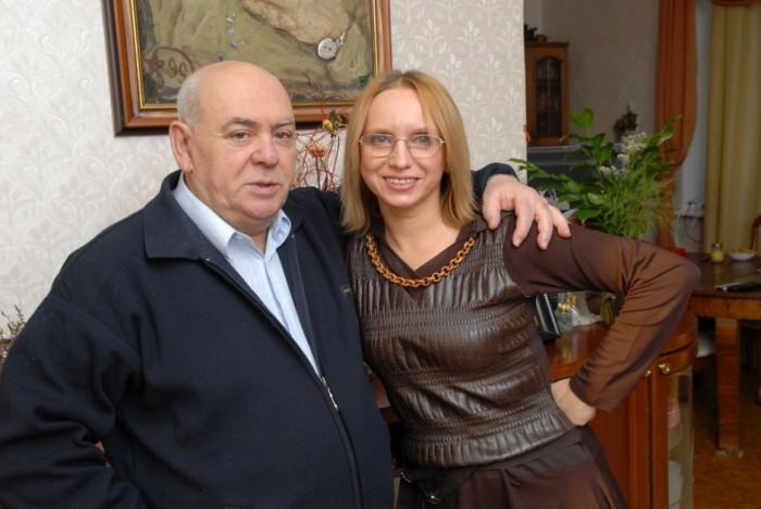 Анатолий Равикович с супругой Ириной Мазуркевич.
