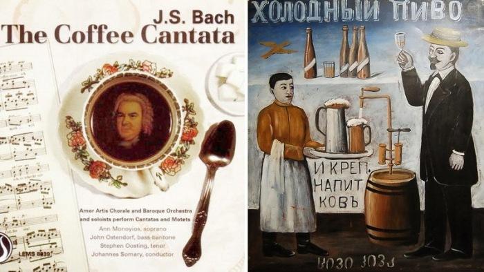 От Баха до Пиросмани: Любопытные истории о том, как реклама стала частью мирового культурного наследия.