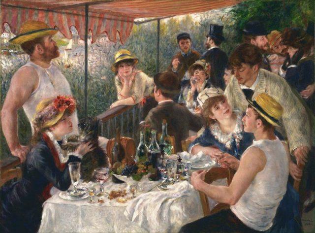 «Завтрак гребцов», картина Пьера Огюста Ренуара, 1880–1881