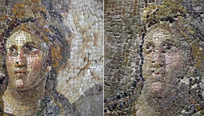Римские мозаики в Турции.