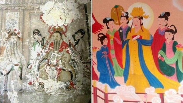 Китайские фрески в Чаояне.